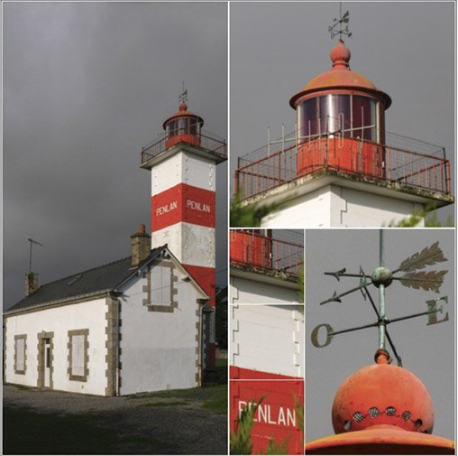 Phare de Pen Lan à Billiers