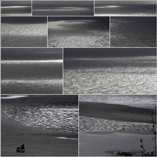 Ombres et lumières sur la mer