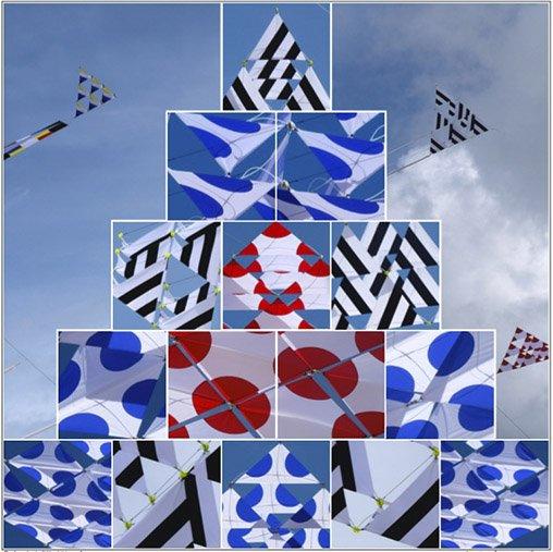 Cerfs-volants tétraédriques